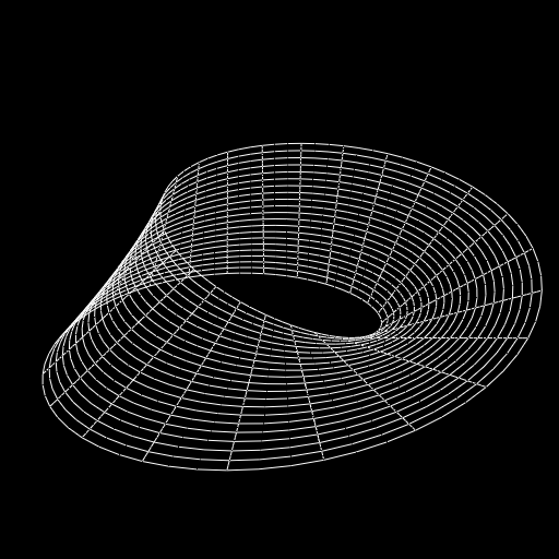 A Möbius strip