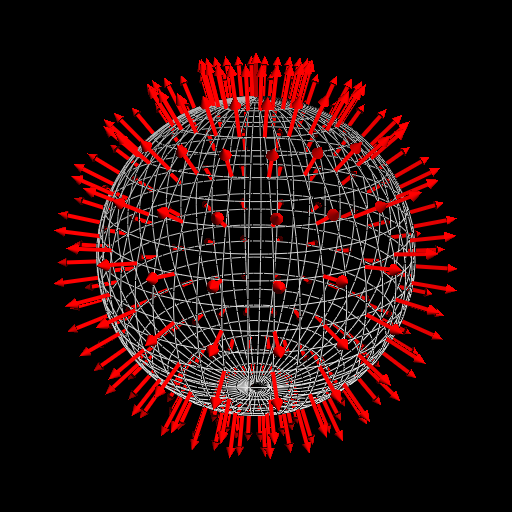 The normal vector field of a
